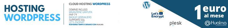 Hosting wordpress a 1€ Hualma
