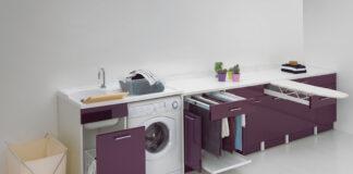 organizzare una lavanderia funzionale
